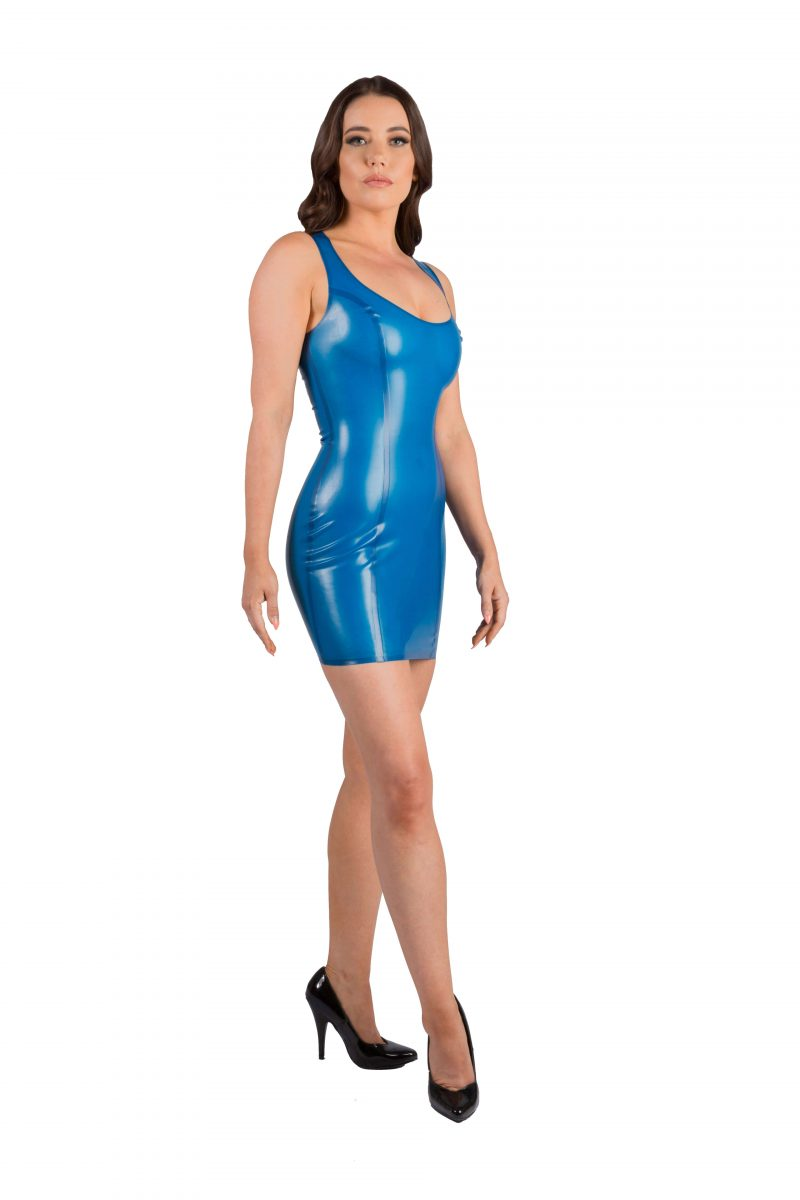 Semi Transparent Blue Latex