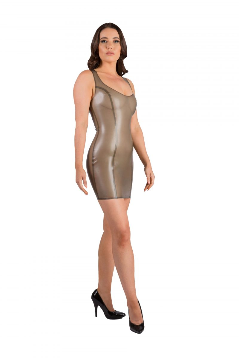Semi Transparent Cloud Grey Latex