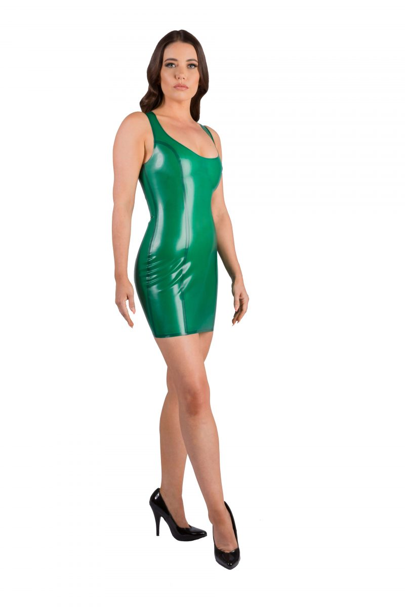 Semi Transparent Green Latex
