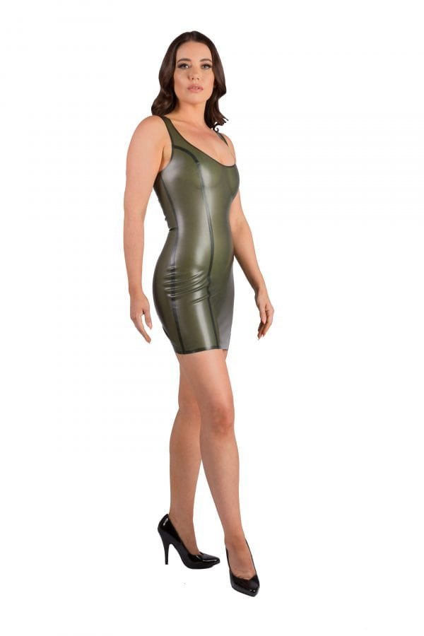 Semi Transparent Olive Latex