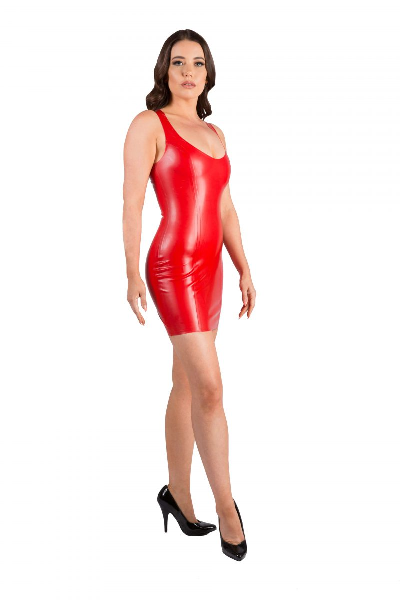 Semi Transparent Red Latex